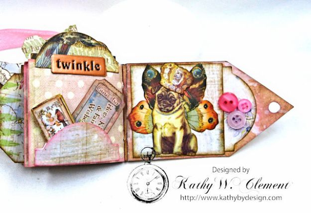 Fairy Happy Birthday Wishes Gift Card Wallet by Kathy Clement Photo 14