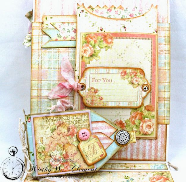 Welcome Wee One Baby Girl Folio by Kathy Clement Product by Tammy Tutterow Designs Photo 9