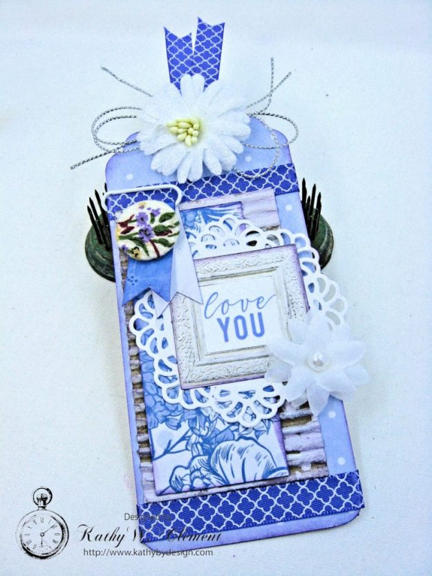 Lilac Whisper Thank You Card by Kathy Clement for RRR Product by Kaisercraft Photo 6