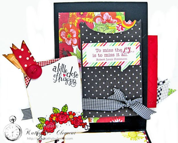 Love, Luck and Ladybugs Bookmark Card by Kathy Clement for Tammy Tutterow Designs Photo 4