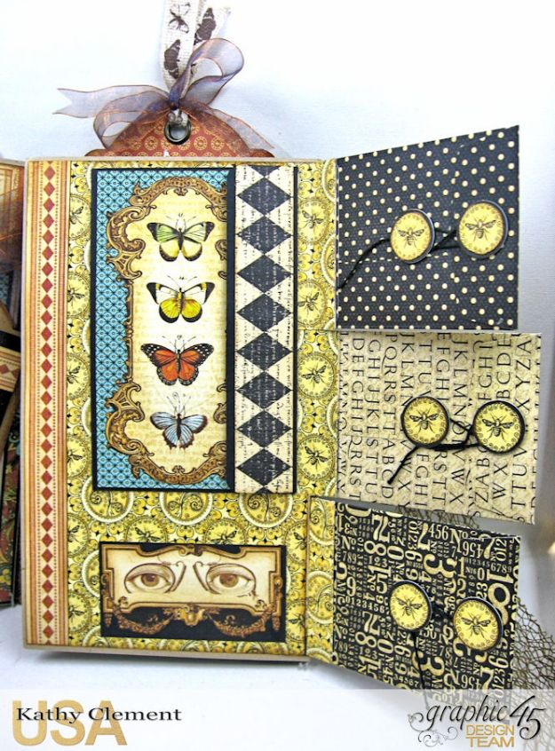 Goin Junkin Olde Curiosity Shoppe Folio by Kathy Clement Product by Graphic 45 Photo 4
