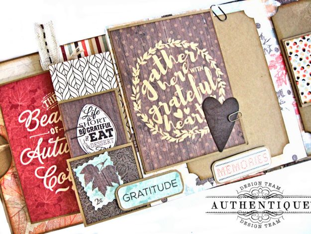 Authentique Bountiful Fall Home Decor Tutorial by Kathy Clement Photo 12