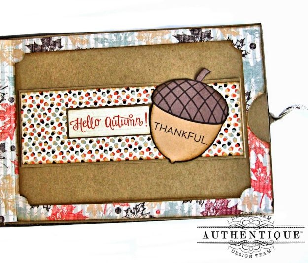 Authentique Bountiful Fall Home Decor Tutorial by Kathy Clement Photo 13
