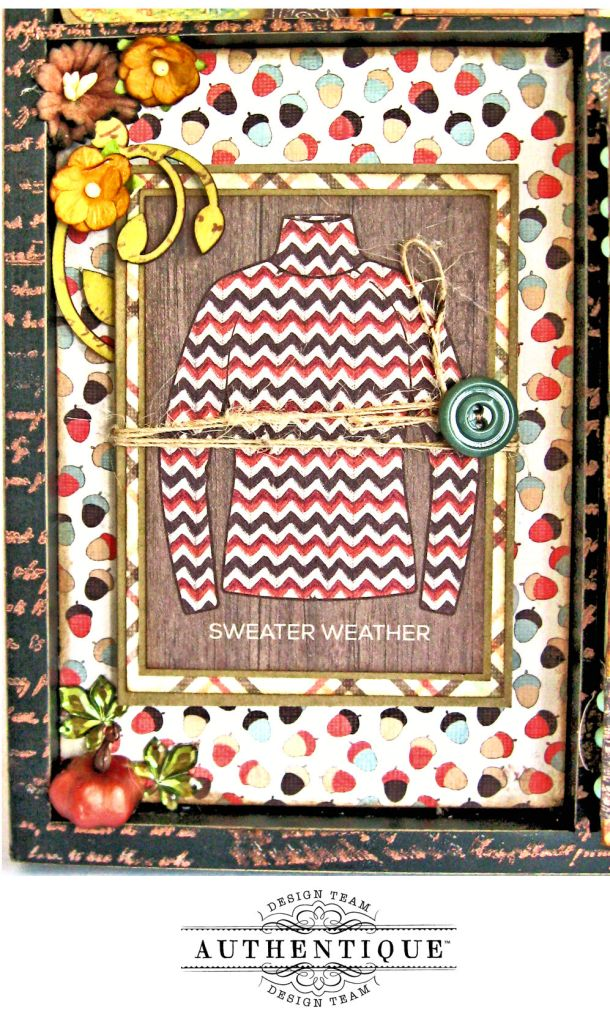Authentique Bountiful Fall Home Decor Tutorial by Kathy Clement Photo 5