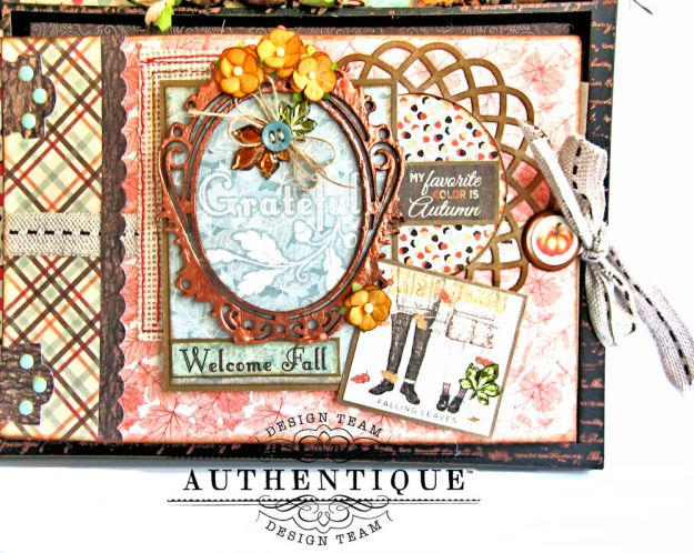 Authentique Bountiful Fall Home Decor Tutorial by Kathy Clement Photo 6