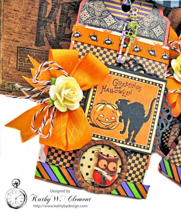 Butterfinger Halloween Treat Bags by Kathy Clement for RRR September 2017 Blog Hop Photo 9