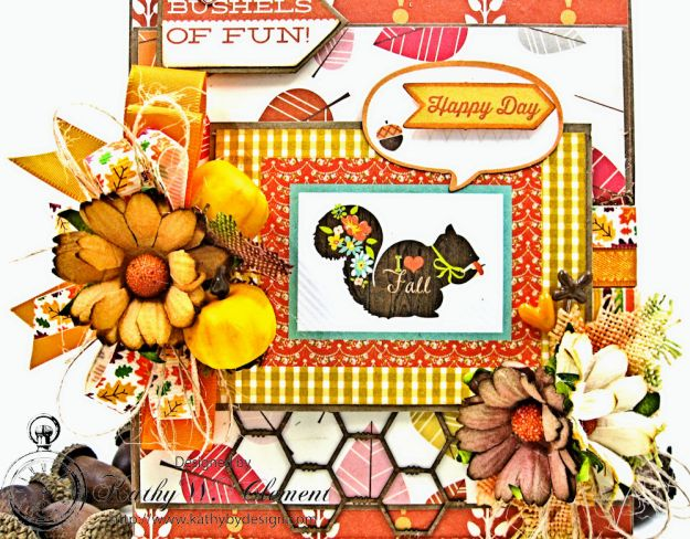 Autumn Love All Occasion Greeting Card by Kathy Clement for Really Reasonable Ribbon Photo  4