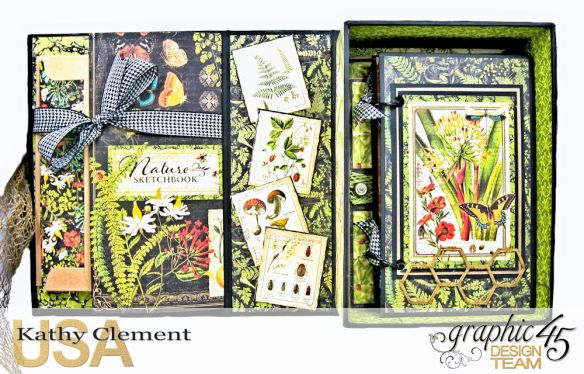 Nature Sketchbook Correspondence Kit Nature Sketchbook by Kathy Clement Product by Graphic 45 Photo 5