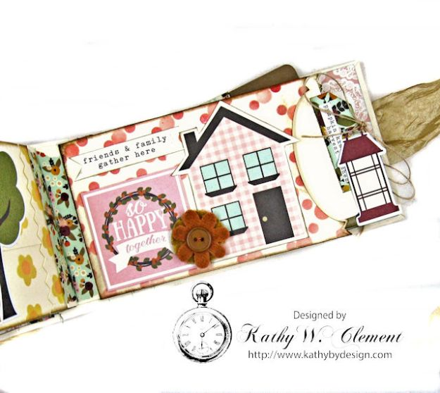 Grateful Paper Bag Envelope Mini Album by Kathy Clement Product by Tammy Tutterow Designs Photo 11