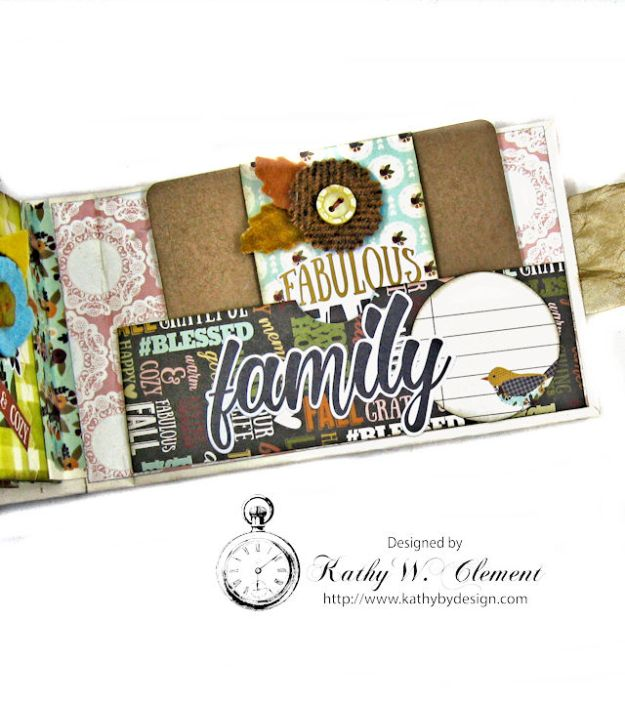 Grateful Paper Bag Envelope Mini Album by Kathy Clement Product by Tammy Tutterow Designs Photo 15