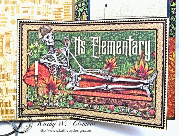 Sinister Secrets Master Detective Shaker Card Tutorial by Kathy Clement for Really Reasonable Ribbon Photo 6