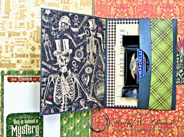 Sinister Secrets Master Detective Shaker Card Tutorial by Kathy Clement for Really Reasonable Ribbon Photo 8