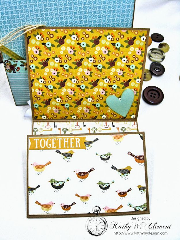 Together Card Folio Vintage Blessings by Kathy Clement for Really Reasonable Ribbon Product by Simple Stories Photo 8