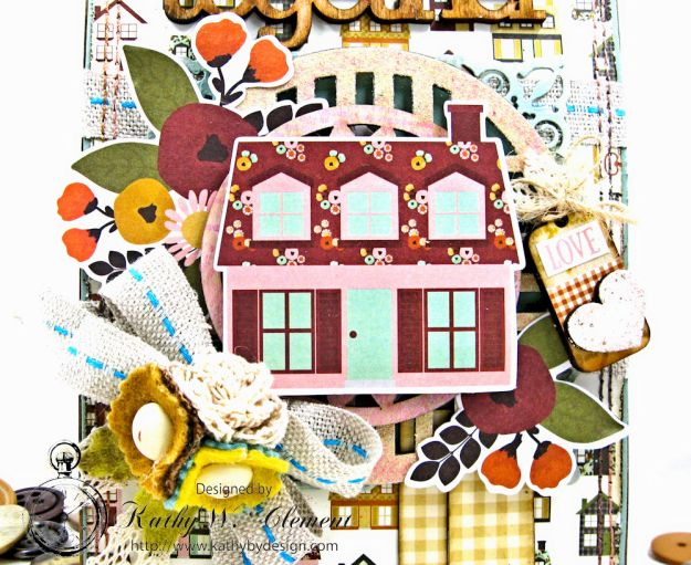 Together Card Folio Vintage Blessings by Kathy Clement for Really Reasonable Ribbon Product by Simple Stories Photo 2