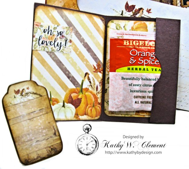 Amber Moon Blessed Birthday Greeting Card by Kathy Clement Photo 9