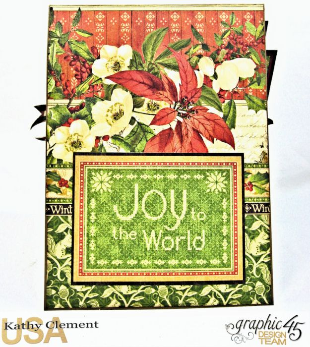 A Spoonful of Christmas Winter Wonderland by Kathy Clement Product by Graphic 45 Photo 5