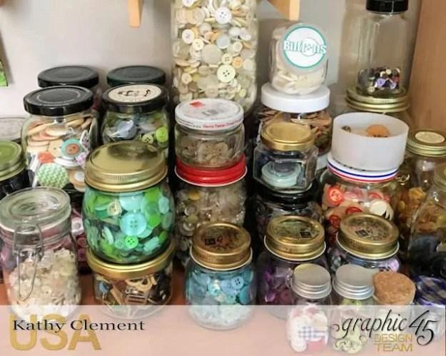 Kathy by Design Studio Tour with Storage, Organization and Money Saving Tips Photo 7
