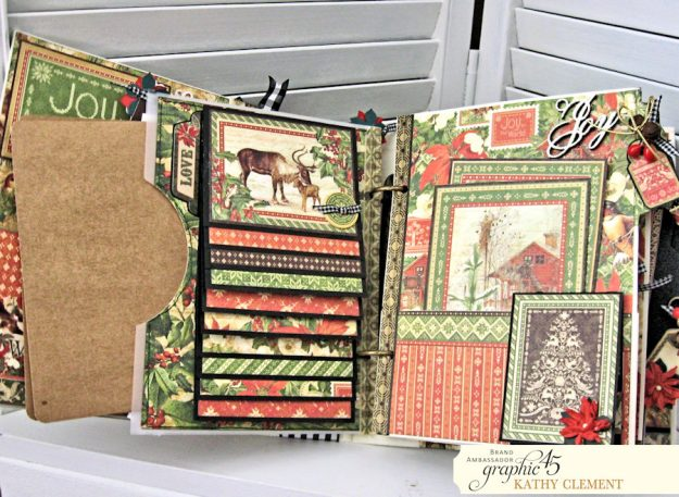 Winter Wonderland December Daily Winter Wonderland by Kathy Clement Product by Graphic 45 Photo 9
