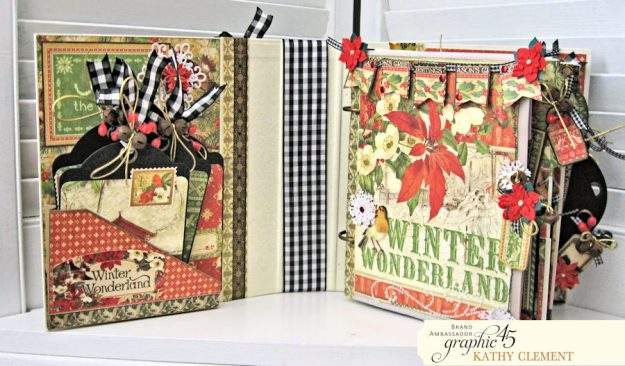 Winter Wonderland December Daily Winter Wonderland by Kathy Clement Product by Graphic 45 Photo 7