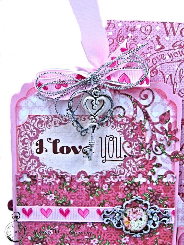 All You Need is Love Valentine and Tag Heartfelt Love by Kathy Clement Product by Heartfelt Creations Photo 6
