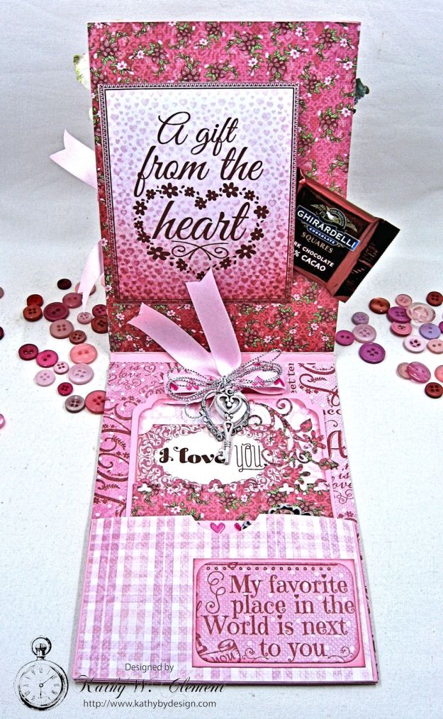 All You Need is Love Valentine and Tag Heartfelt Love by Kathy Clement Product by Heartfelt Creations Photo 4