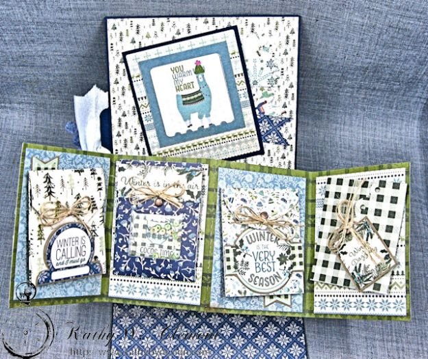 Cold Hands Warm Heart Twist and Pop Up Card Tutorial Cold Hands by Kathy Clement Product by Tammy Tutterow Designs Photo 4