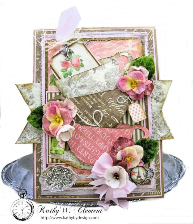 Botanical Tea Folio Botanical Tea by Kathy Clement Product by Graphic 45 Photo 1