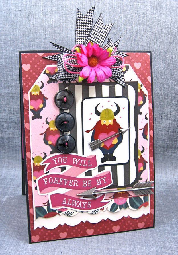 Viking Valentine Wishes Hello Sweetheart by Kathy Clement Valentine Gallery Product by Carta Bella Photo 1