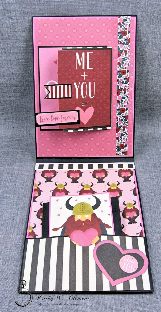 Viking Valentine Wishes Hello Sweetheart by Kathy Clement Valentine Gallery Product by Carta Bella Photo 3