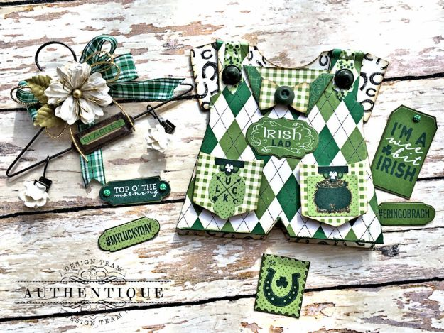 Authentique Shamrock Saint Patrick's Day Home Decor by Kathy Clement Photo 15