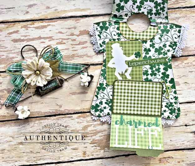 Authentique Shamrock Saint Patrick's Day Home Decor by Kathy Clement Photo 13