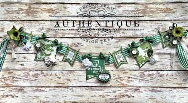 Authentique Shamrock Saint Patrick's Day Home Decor by Kathy Clement Photo 1