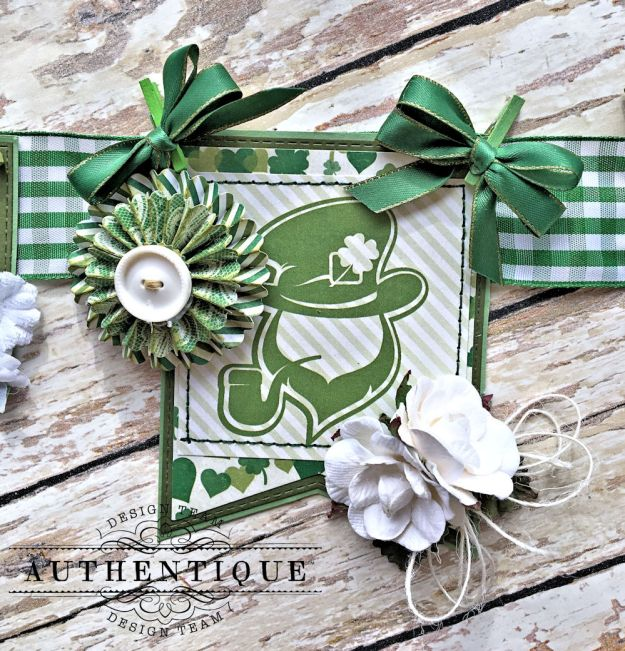 Authentique Shamrock Saint Patrick's Day Home Decor by Kathy Clement Photo 3