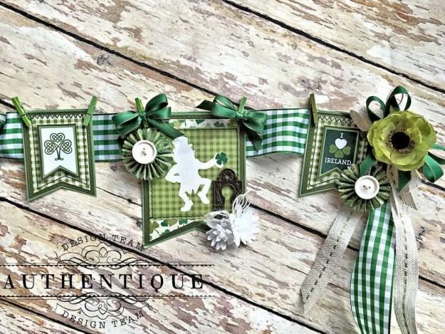 Authentique Shamrock Saint Patrick's Day Home Decor by Kathy Clement Photo 8
