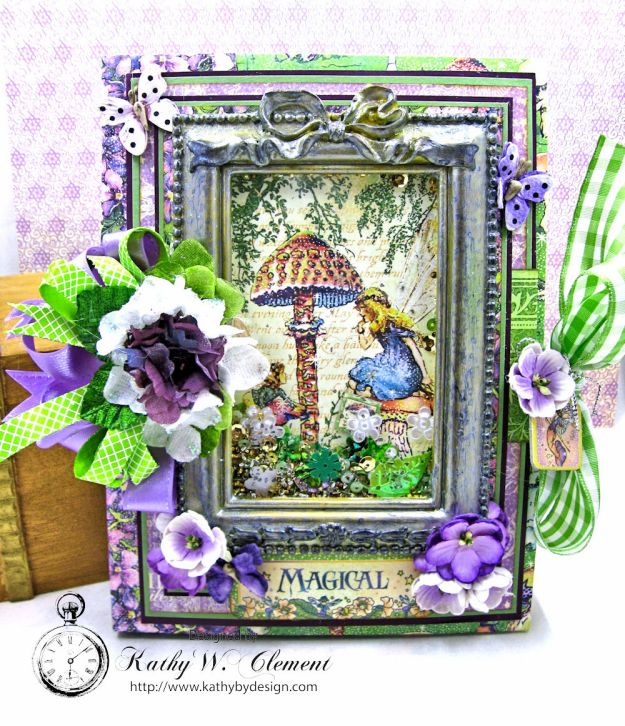 Graphic 45 Fairie Dust Waterfall Folio Fairie Dust by Kathy Clement for RRR Product by Graphic 45 Photo 1
