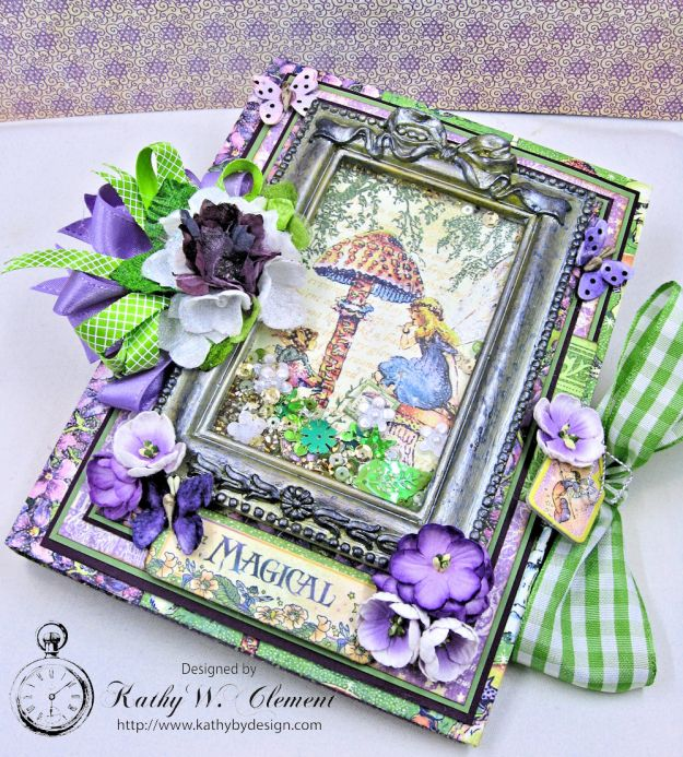 Graphic 45 Fairie Dust Waterfall Folio Fairie Dust by Kathy Clement for RRR Product by Graphic 45 Photo 11