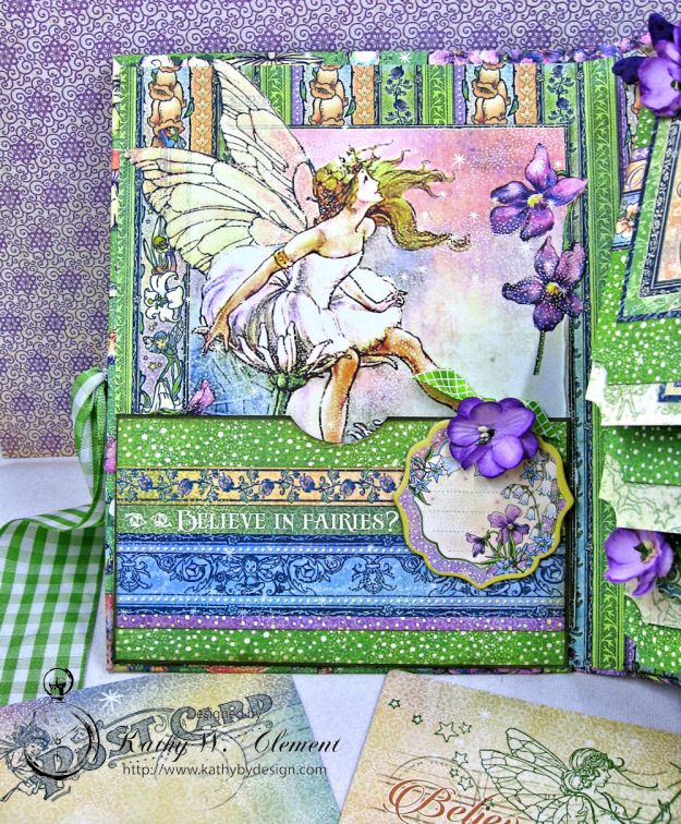 Graphic 45 Fairie Dust Waterfall Folio Fairie Dust by Kathy Clement for RRR Product by Graphic 45 Photo 8