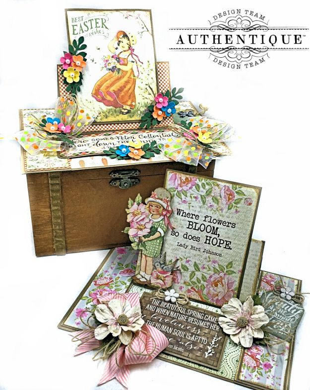 Authentique Jubilee Project Share and Center Step Easel Card Tutorial by Kathy Clement Photo 01