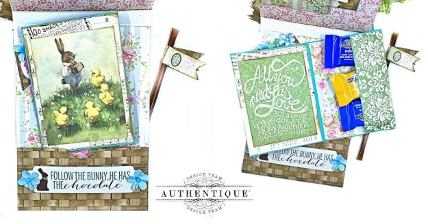 Authentique Jubilee Project Share and Center Step Easel Card Tutorial by Kathy Clement Photo 15