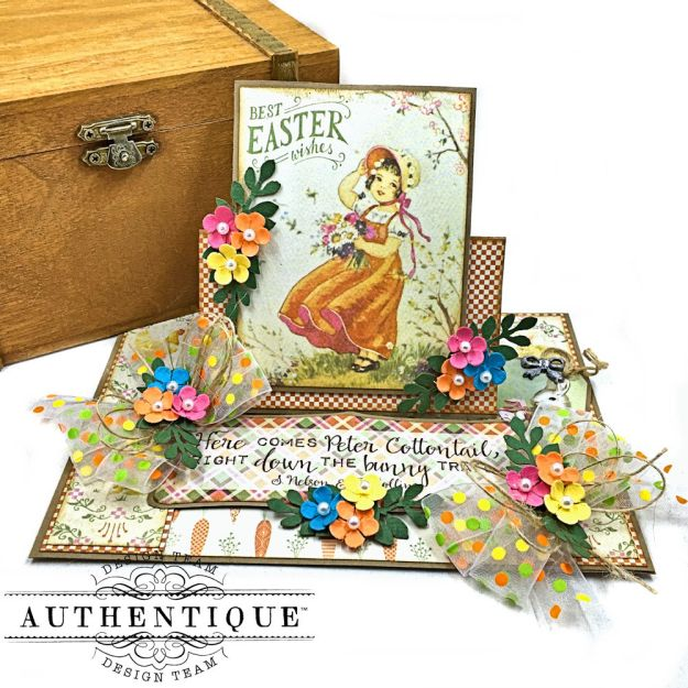 Authentique Jubilee Project Share and Center Step Easel Card Tutorial by Kathy Clement Photo 02