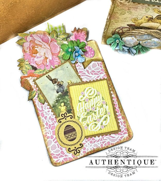 Authentique Jubilee Project Share and Center Step Easel Card Tutorial by Kathy Clement Photo 11