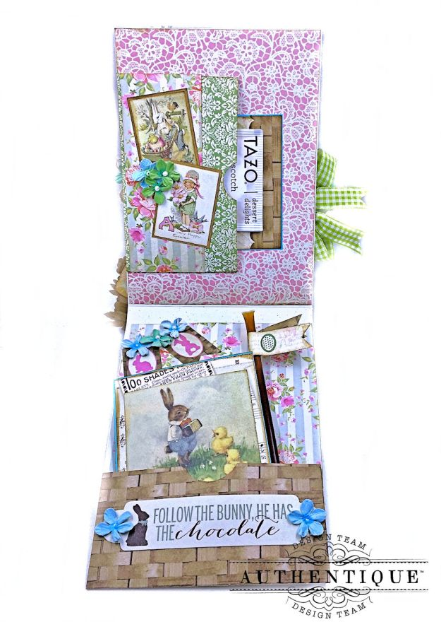 Authentique Jubilee Project Share and Center Step Easel Card Tutorial by Kathy Clement Photo 13