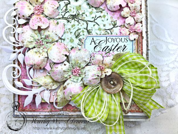 Heartfelt Easter Dogwoods Greeting Card Flowering Dogwood by Kathy Clement Product by Heartfelt Creations Photo 04