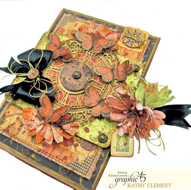 Graphic 45 Botanicabella Sympathy Card Botanicabella by Kathy Clement Product by Graphic 45 Photo 04