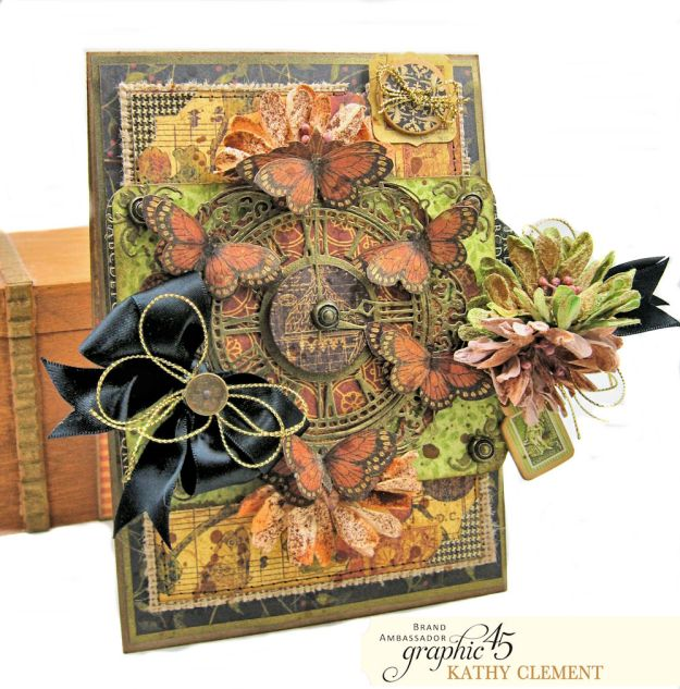 Graphic 45 Botanicabella Sympathy Card Botanicabella by Kathy Clement Product by Graphic 45 Photo 05