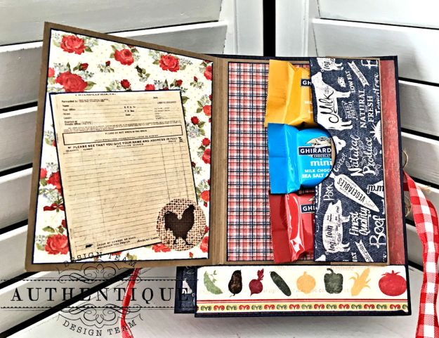 Country Blessings Folio Tutorial Frontier by Kathy Clement Product by Authentique Paper Photo 10