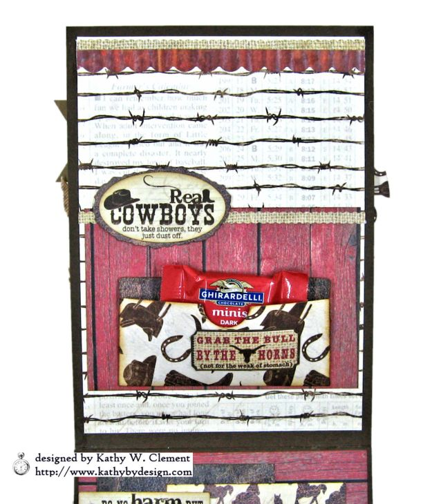 Ride em Cowboy Masculine All Occasion Card by Kathy Clement Photo 06