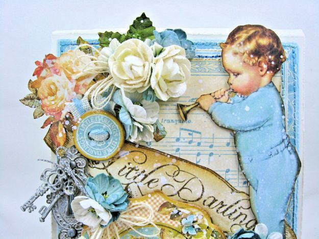 Graphic 45 Little Darlings Little Boy Blue Card Folio Little Darlings by Kathy Clement Product by Graphic 45 Photo 03