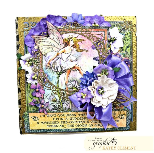 Fairie Dust Mini Album Fairie Dust by Kathy Clement Product by Graphic 45 Photo 03