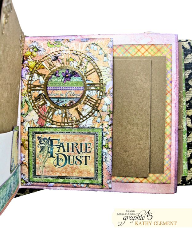 Fairie Dust Mini Album Fairie Dust by Kathy Clement Product by Graphic 45 Photo 11